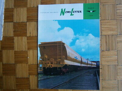 Victorian Railway News Letter  March 1969