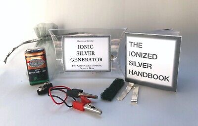 Colloidal Silver Ion Generator - Survival Kit