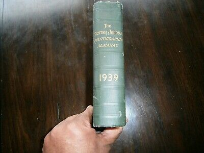 British Journal Photographic Almanac 1939 Leica Rollei  and more