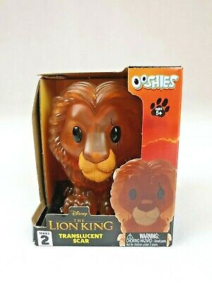 Disney The Lion King Extra Large Translucent Scar Ooshie Collectable