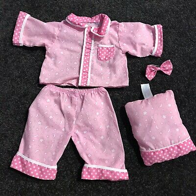 Play Along Cabbage Patch Girl's Pink Pyjamas And Accessories (can combine post)