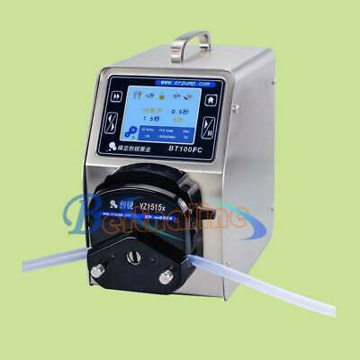 1PCS BT100FC/YZ1515x Intelligent Micro Peristaltic Pump 220V Brand New