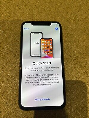 Apple iPhone X - 256GB - Space Grey (Unlocked) - Excellent Condition - AU Stock