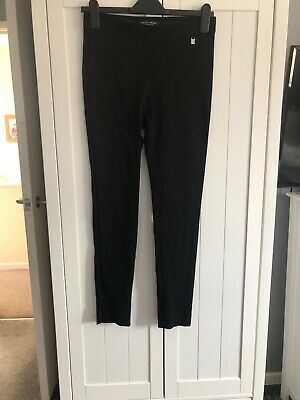 Dorothy Perkins Skinny Stretchy Black Trousers Size 10