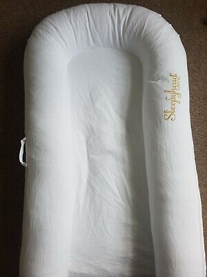 Sleepyhead Grand Pod Pristine White, 9-36 months, hardly used, in bag