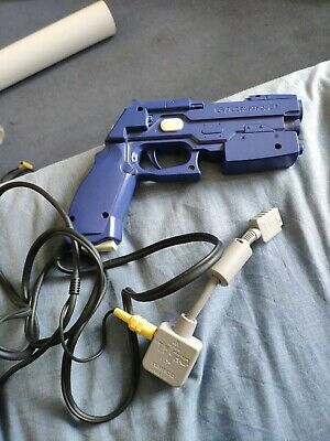 SONY PLAYSTATION 2 PS2 OFFICIAL NAMCO G-CON 2 LIGHT GUN PISTOL BLASTER GCON Blue