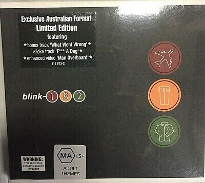 Blink-182–Take Off Your Pants And Jacke–CD Litd Ed Digipack AU 008811267322-MINT