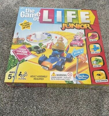 Brand New Sealed!!The Game Of Life Junior