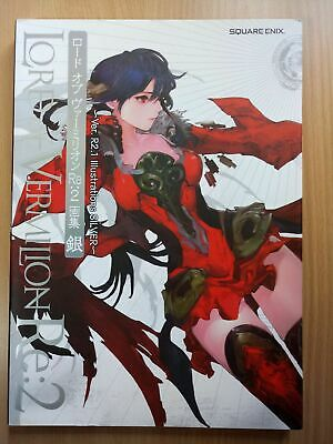 BOOK Lord of Vermilion Re: 2 (II) Ver. R2.1 Illustrations Art Silver SQUARE ENIX