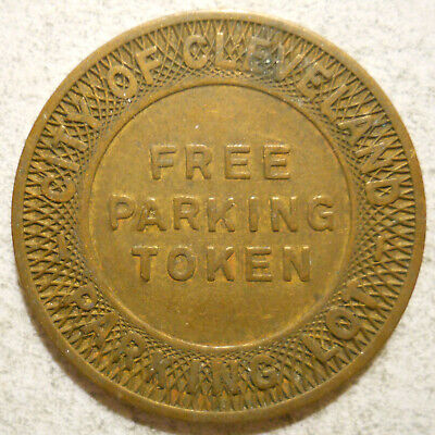 St. Clair-East 125th St. Shopping Center (Cleveland, Ohio) parking token OH3175G