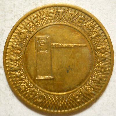 Oberlin Off-Street Parking (Ohio) parking token - OH3690A