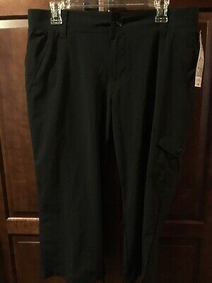Riders by Lee Cargo On the Go Comfort Stretch Capri Pants Women's Size 12Black