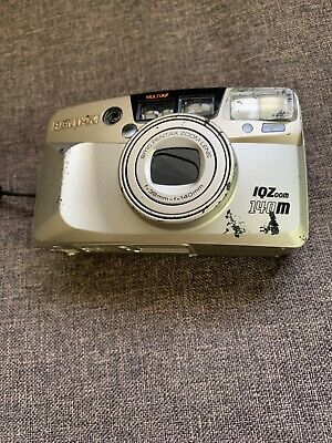 pentax IQZoom 140m film camera. Great condition. With case.