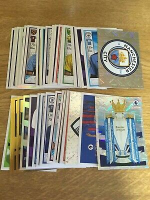 53 Different Panini Premier League 2020 Football Stickers