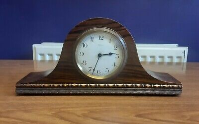8 day  1920s French Art Deco mantle clock