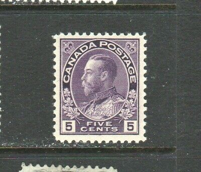 Canada #112 5 Cent Admiral Issue   Mint  Nh