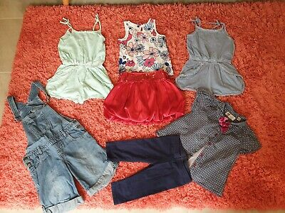 Girl's NEXT, Ted Baker, Matalan Spring Summer Clothes Bundle Size 5 - 6 Years