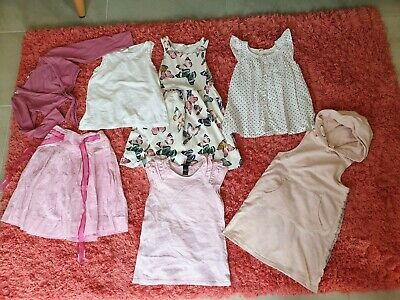Girl's NEXT, H&M, Matalan Spring Summer Clothes Bundle Size 6 - 7 Years