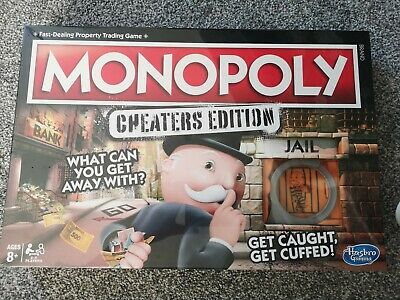 Monopoly Cheaters Edition Board Game London UK EDITION New and Sealed in box