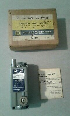 Square D Class 9007 Type Aw46 Precision Limit Switch