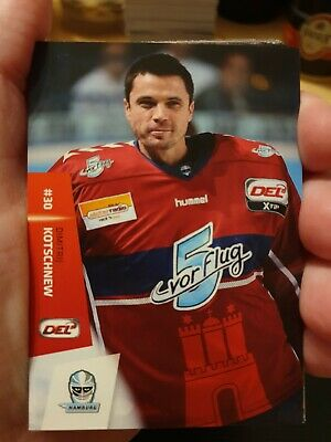 1 Satz Hamburg Freezers 2014/2015 DEL Playercards
