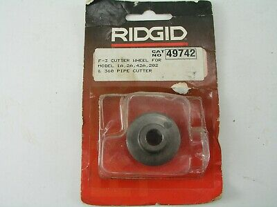 Replacement Pipe Cutter Wheel Blade, Ridgid 49742