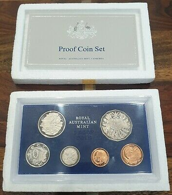 Royal Australian Mint 1979 Australian Proof Set - Rare Double Bar Variety