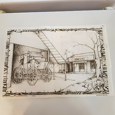 Hobbytex Vintage The Days of Cobb and Co 8079 New with Instruction Sheet