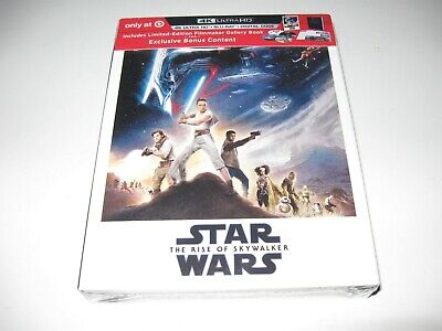 Star Wars Rise of Skywalker Box Set Bluray 4K Digital NEW Sealed RARE Target NEW