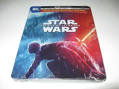 Star Wars Rise of Skywalker Steelbook Bluray 4K Digital NEW Sealed RARE Best Buy