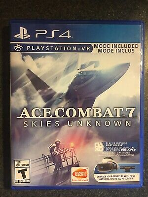 Ace Combat 7 Skies Unknown PS4 PS VR *Preowned *Fast shipping