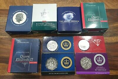 Royal Australian Mint 1999-2003 Queen's Proof Coin Collection in Fine Silver