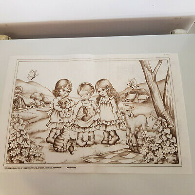 Hobbytex Vintage Picnic Lunch 8167  New with Instruction Sheet