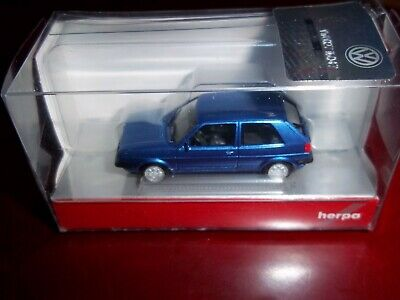 Herpa VW Golf 2 GTI HO 1:87 BLAU