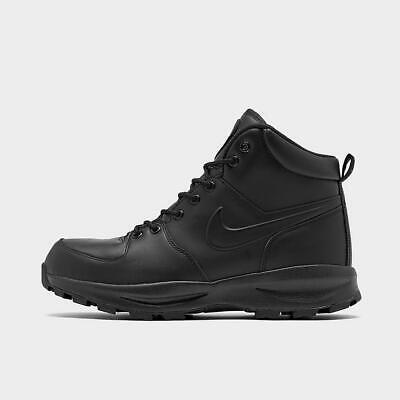 AJ1280 001 BLACK//BLACK-BLACK DEADSTOCK BRAND NEW NIKE MANOA GS