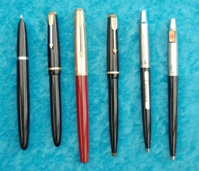 Collection of  Parker pens x 6