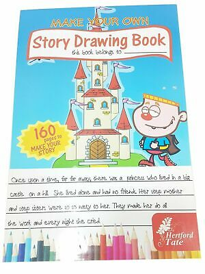 Story Drawing Book White Paper Book A4 160 sheets kids gift toys activity art