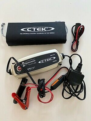 CTEK MXS 5.0 Battery Charger 12V Automatic Trickle Battery Charger Conditioner