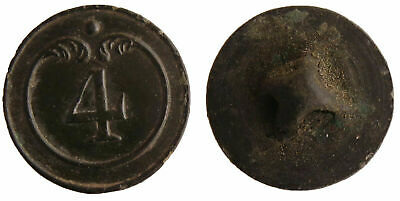 4 regiment BUTTON Napoleon France Russia.War 1812.Small size!