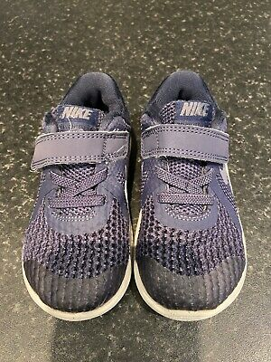 Nike Trainers Navy Blue Size 6.5 (23.5) Girls Boys