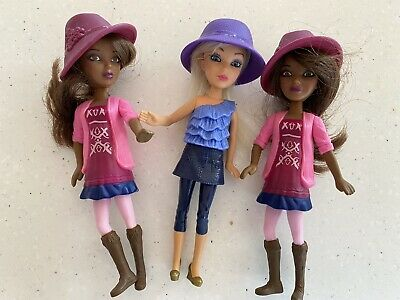 3 X Dolls. Cute For Girls To Play. Collect Or Post
