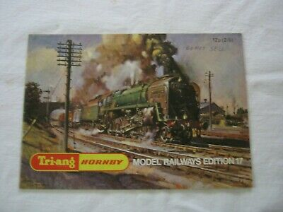 Vintage TRIANG HORNBY Model Railway Catalogue 1971
