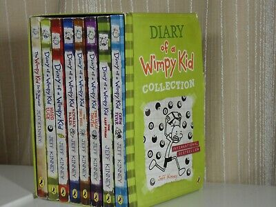 Diary Of A Wimpy Kid Box Set Collection (8 Books)