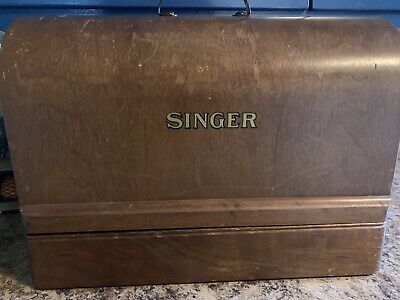 Vintage 1950 Singer 99K Sewing Machine Great Britain EF645406 ~ RUNS; NEEDS TLC