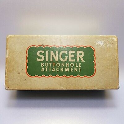 Singer VINTAGE Button Hole Attachment Sewing Machine RARE No 86662 Home Product