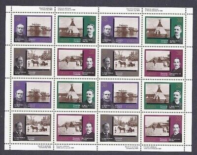 Canada - Mint Sheet Of 16 Stamps - Vfnh - Scott 1237/1240 - Canadian Photo.
