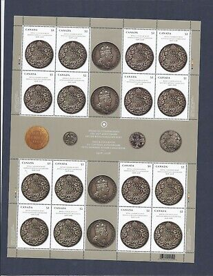 Canada - Mint Sheet Of 16 Stamps - Vfnh - Scott 2274 - Royal Canadian Mint