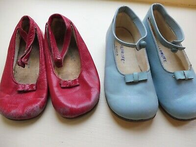 1940's childrens leather CHILPRUFE shoes - 2 pairs!
