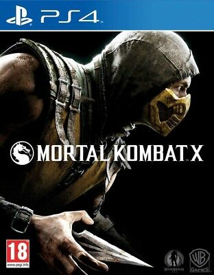 Mortal Kombat X Sony PlayStation 4 PS4 Neu & Ovp
