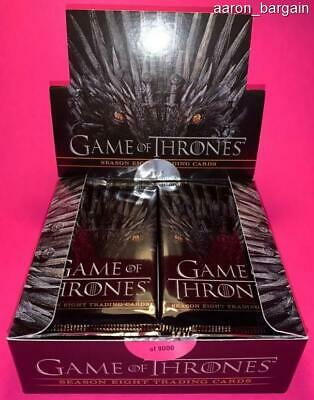 5 Game of Thrones Season 8 2020 Rittenhouse Pack Lot GoT Auto/Sketch/Relic/Gold?